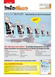 SMS Switch Butler SMSB12 - Elbro AG