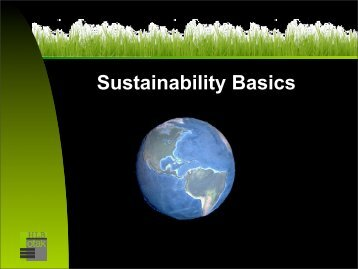 Sustainability Basics - City of Cannon Beach