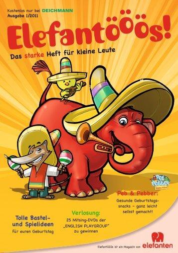 Das starke Heft für kleine Leute - bei Elefanten