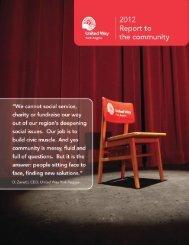 2012-2013 Annual Report - United Way of York Region