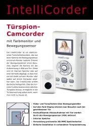 Türspion- Camcorder - Elektro Hauer