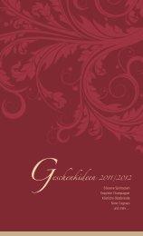 Geschenkideen 2011/2012 - Wein & Ambiente Vogler