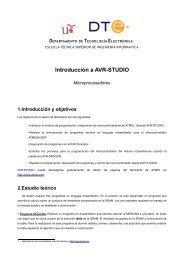 Introducción a AVR-STUDIO