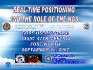 View presentation (5 MB PDF) - GPS.gov