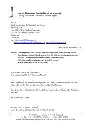 Stellungnahme NovelleGlBG 2007 - Ludwig Boltzmann Institut für ...