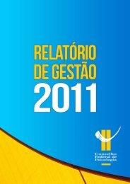 I- Reuniões telefônicas - Janei- ro 2011 - Conselho Federal de ...