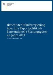 Rüstungsexportbericht-2013