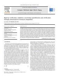 Rigorous verification, validation, uncertainty quantification and ...