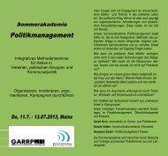 Zum offiziellen Beginn des Xenos-Projektes ... - European Greens