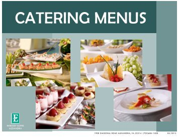 Banquet Menu Template - Embassy Suites - Hilton