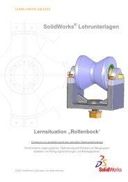 Deckblatt Rollenbock - The SolidWorks Blog