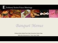 Banquet Menu (PDF) - Embassy Suites