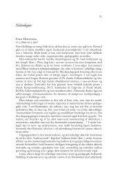 Nekrologer - danish yearbook of musicology