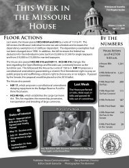 April 27, 2009 - Missouri House of Representatives