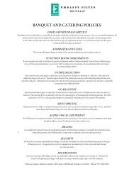 Meeting Planner Packages - Embassy Suites