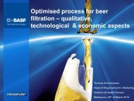 Optimized process for beer filtration - The Institute of Brewing ...