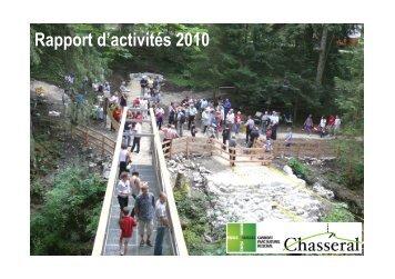 2010 Rapport d'activité - Parc régional Chasseral