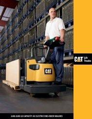 6000-8000 lb capacity ac electric end-rider walkies - Venequip
