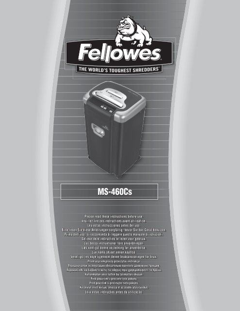 MS-460Cs - Fellowes