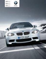O novo BMW M3 Coupé O novo BMW M3 Berlina O novo BMW M3 ...