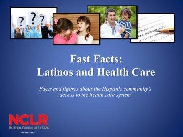 FastFacts_LatinosandHealthCare2012