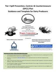 SPCC - National Milk Producers Federation