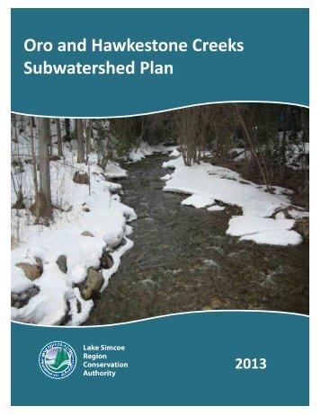 oro_hawkestone_subwatershed_plan