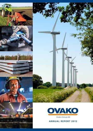 Ovako's Annual Report 2012 4.20 MB - Ovako AB