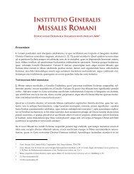Institutio Generalis Missalis Romani - Kreuzgang