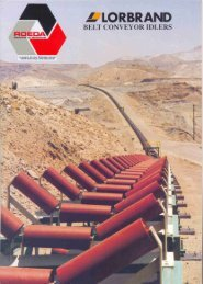 Page 1 Page 2 Page 3 Lorbrand Steel Rollers Specifications Seal ...
