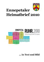 Ennepetaler Heimatbrief 2010