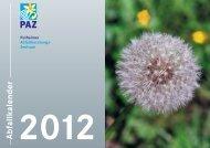Abfallkalender 2012