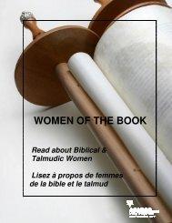 Biblical & Talmudic Women - Jewish Public Library