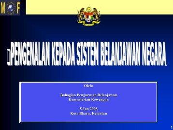 Pengenalan Kepada Sistem Belanjawan Negara