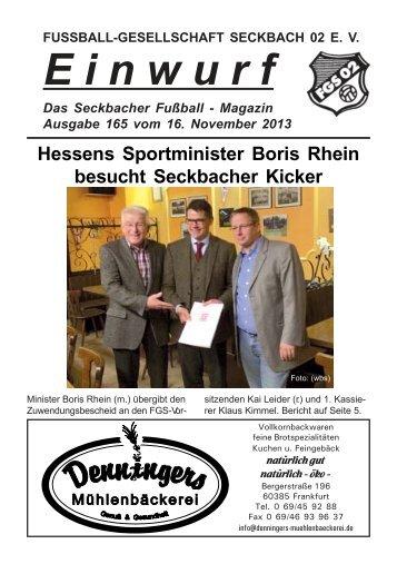 Aktuelle Ausgabe - FG Seckbach 02
