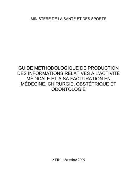 Modif_guide_MCO_2010-2009 - Département d'information médicale