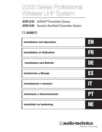 ATW-2110 - Audio-Technica