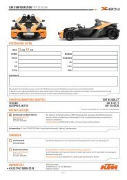(0)7742 / 6000-5378 MOTOR / Getriebe Fahrwerk - KTM X-Bow