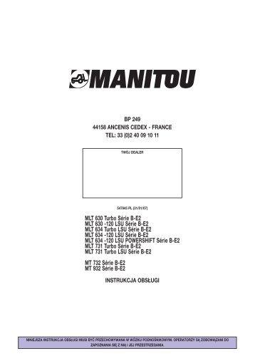 MLT 634 -120 LSU Série B-E2 - Agromix
