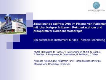 Zirkulierende DNA und Tumor - gastroenterologie-wintertreffen.at