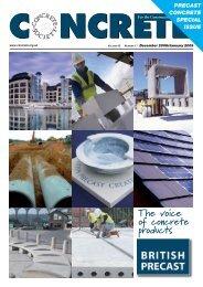 The voice of concrete products - British Precast