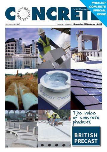 The voice of concrete products - British Precast