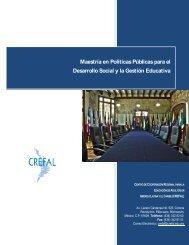 Maestría en Políticas Públicas para el Desarrollo ... - Campus Virtual