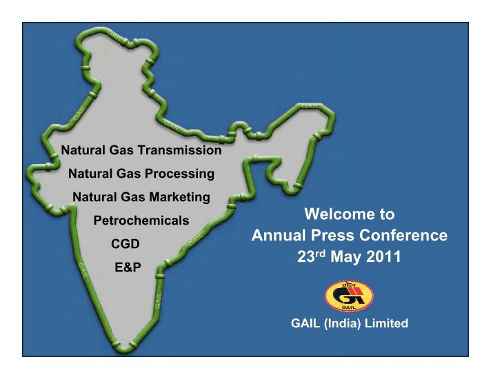 project report on gail india