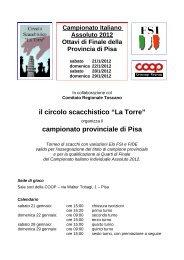campionato provinciale di Pisa - VeSuS!!!