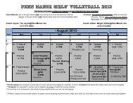 Penn Manor girls' Volleyball 2013 - Penn Manor Blog Site