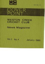02-04-Dec-Jan1979 - Weston Creek Cricket Club