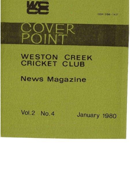 02-04-Dec-Jan1979 - Weston Creek Cricket Club