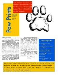 February 2013 Paw Prints - Penn Manor Blog Site