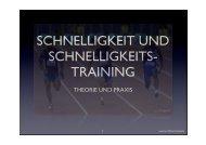 schnelligkeit und schnelligkeits- training - Squash in Bayern